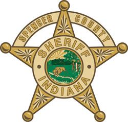 Spencer County Indiana Sheriff Badge